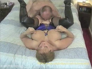 Curvy Claire - Thigh Boot Humping Pt1 HD Video