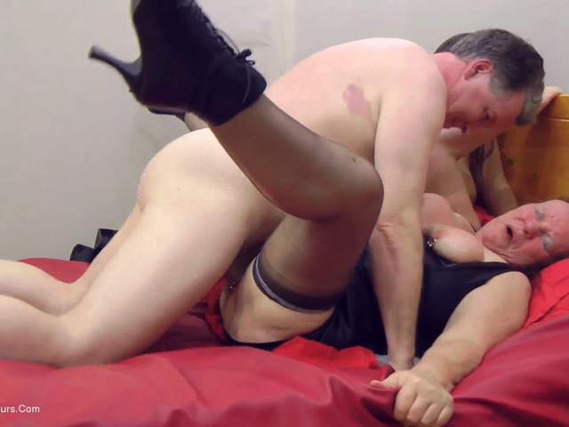 Man masaging his cock photo