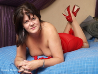 sandy - Slutty In Red Free Pic 1