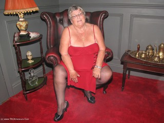 Grandma Libby - Red Dress Picture Gallery