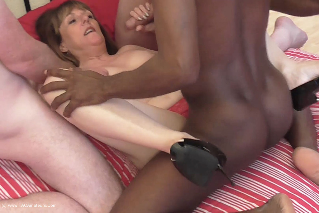British mature with young having fun 7