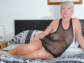Shazzy B - PVC and Fishnet Striptease 2 Picture Gallery