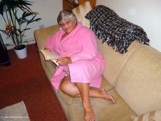 Grandma Libby - Sofa Fun Picture Gallery