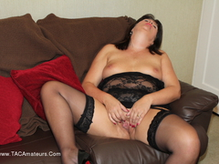 Sandy - Dildo On The Sofa Gallery