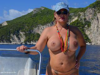 Nude Chrissy - Boat Trip Picture Gallery