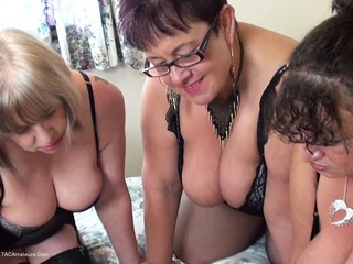 Warm Sweet Honey - Three Dirty Lesbians Pt1 HD Video