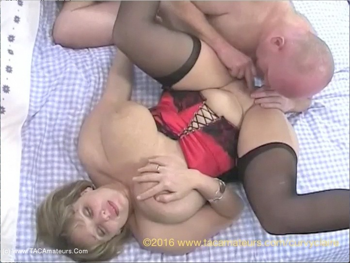 CurvyClaire - Red Basque Pt2 scene 0