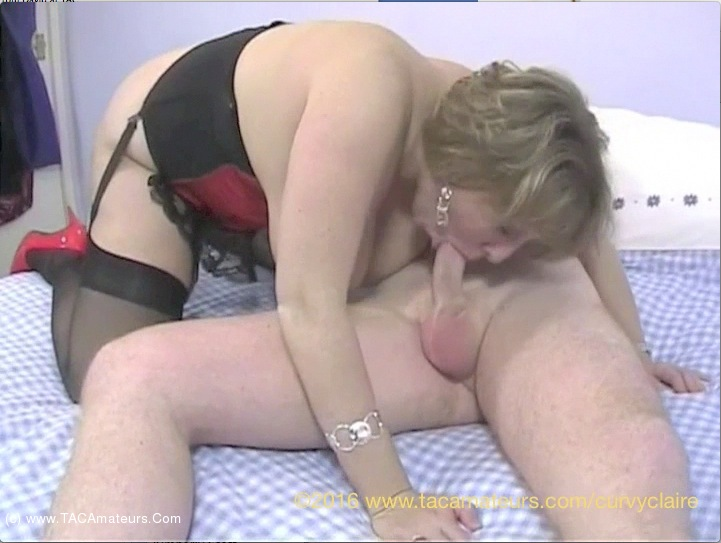 CurvyClaire - Red Basque Pt2 scene 1