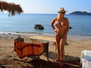 Nude Chrissy - Dionysos Beach Picture Gallery