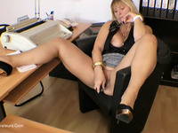 NudeChrissy - Chrissy In Her Office - Free Video