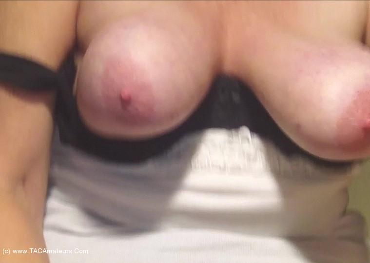 Caro - Big Jiggling Granny Tits Pt3 scene 0