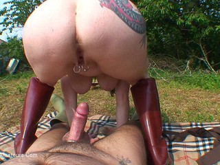 Mary Bitch - Fucked In My Garden Pt3 HD Video