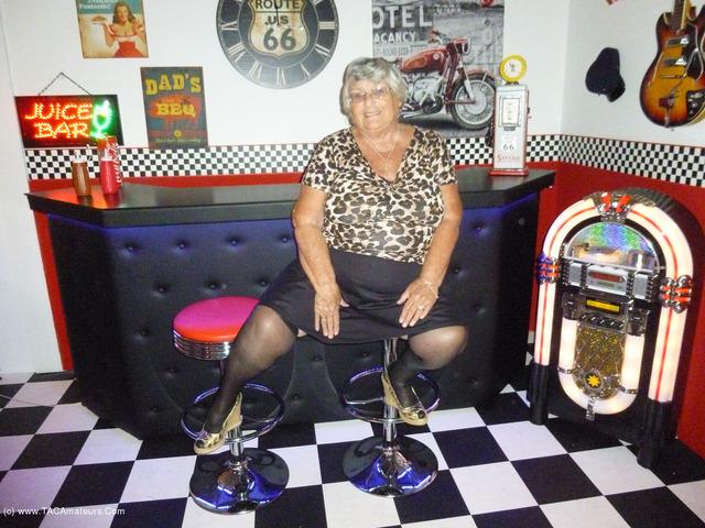 GrandmaLibby - Grandma Libby at the studio
