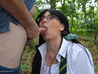 BarbySlut - Schoolie In The Woods