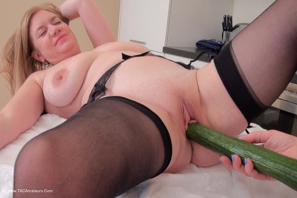 LilyMay - Cucumber Playtime Pt3 scene 1