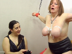 Kimberly Scott - Tierd Up & Riding The Sybian HD Video