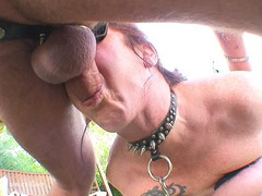 MaryBitch - Outdoor Anal Sex Slave Pt2 HD Video