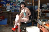 barbyslut - Barby Helps Out At Work Free Pic 4