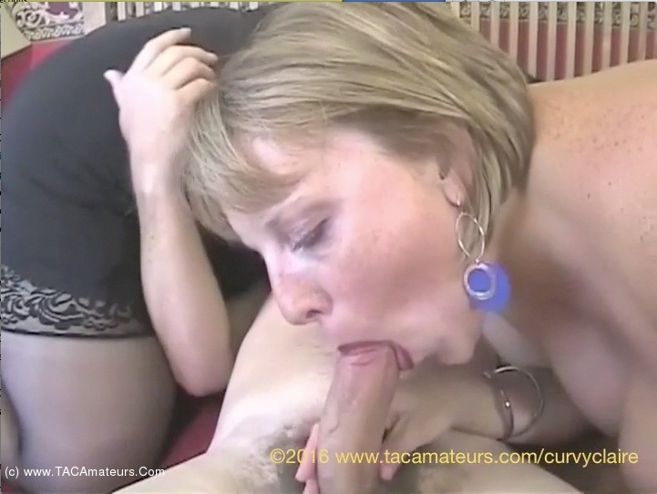 CurvyClaire - Double Dee 3 Some Pt2 scene 3