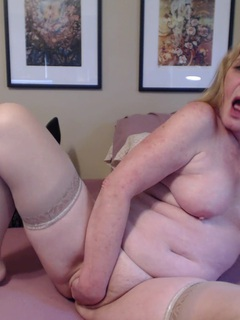 From sexy strip tease out of my tight pink dress, to gaping my pussy shaking mytits , and showing you my sweet asshole