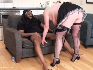 Claire Knight - Fifi The Maid Meets Roc Pt2 HD Video