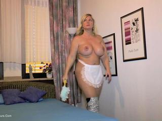 Nude Chrissy - The Nude Maid HD Video