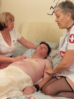 Two Naughty Nurses Pt1