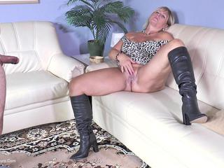 Nude Chrissy - Blow Job In Boots HD Video