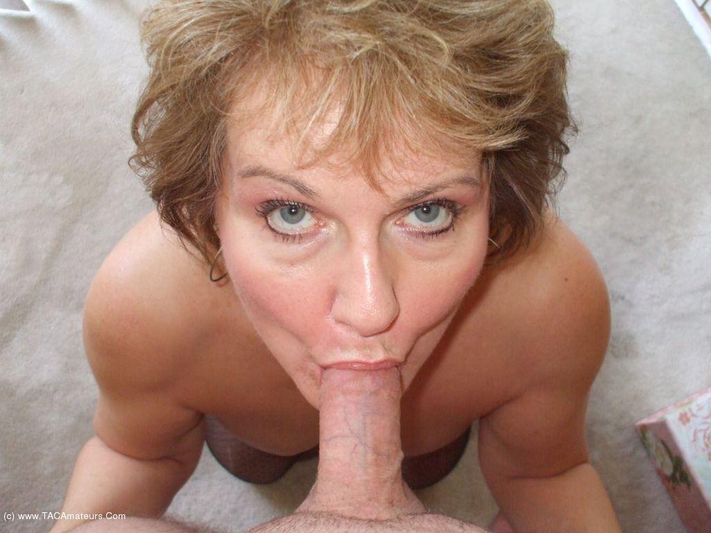 Evita Pozzi riding on her boss hard dick