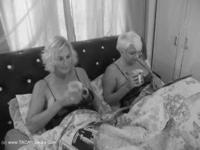 Molly & Di Get Naughty In The Morning Pt1