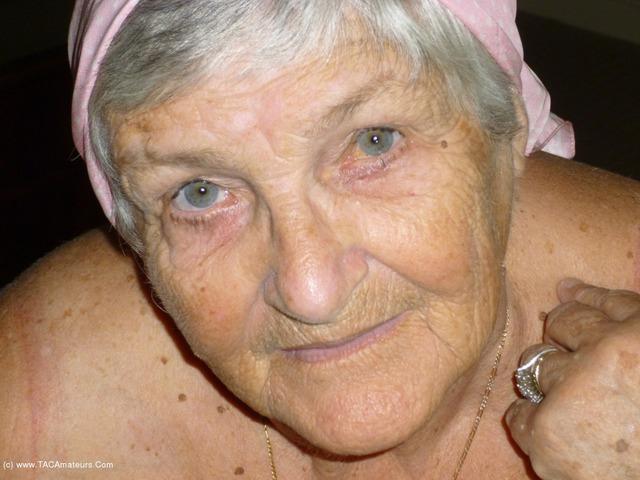 GrandmaLibby - Pink Scarf
