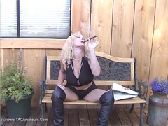 AwesomeAshley - Cigar BJ Fuck Pt1 Video
