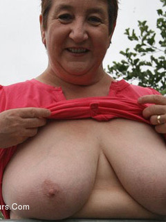 Tits Out In The Park Pt1