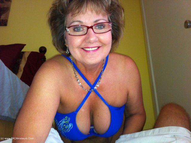 BustyBliss - Blue Bikini