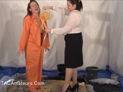 GunkedUpGirls - Prisoner Faye Rampton Pt1 HD Video