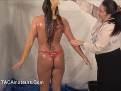 GunkedUpGirls - Prisoner Faye Rampton Pt2 HD Video