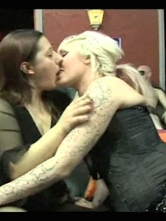 Kim & Mandy Gangbang Party 1 Pt1