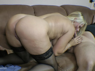 First Blowjob For Mama's Boy