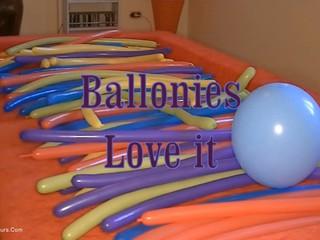 Angel Eyes - Balloonies Love It Pt1 HD Video
