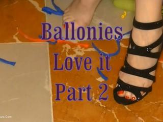 Angel Eyes - Balloonies Love It Pt2 HD Video