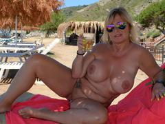 NudeChrissy - Zackynthos Nudist Beach Pt2 HD Video
