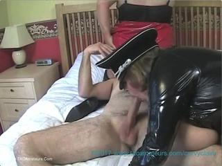 Curvy Claire - Curvy Claires PVC Lesbo 3 Some With Kinky Carol Pt1 HD Video