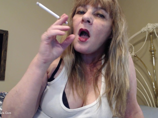 CougarBabeJolee - Flick My Ash On Your Cock