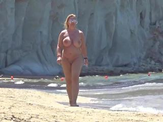 Nude Chrissy - Zackynthos Nudist Beach Pt3 HD Video