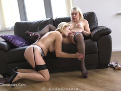 LadySextasy - Legs, Stockings, Fingers & Tongues Pt2 HD Video