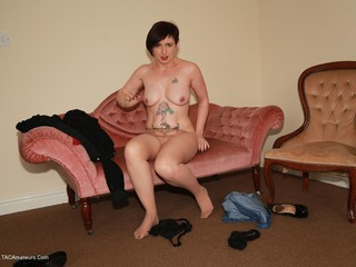 Zanderlee - Strip  Tights Ripping Picture Gallery