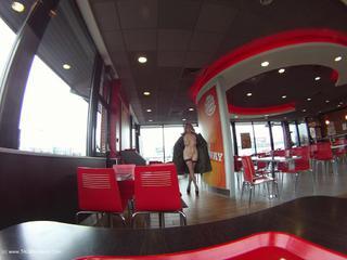 Barby At Burger King