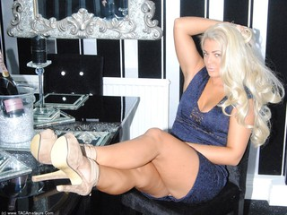 Lacey In A Blue Dress