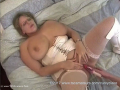 CurvyClaire - White PVC & FMB's Pt1 HD Video