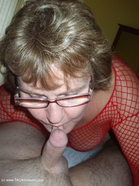 bustybliss - Red Fishnet In The Shower - By Request Pt2 Free Pic 4